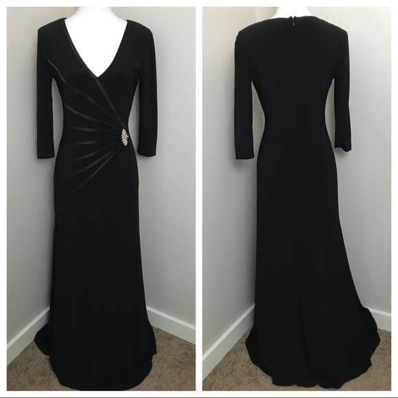 Joseph Ribkoff Dresses | Black Evening Dress | Poshmark